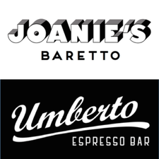 Joanie's Baretto and Umberto Espresso Bar logo