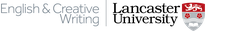 Department of English & Creative Writing, Lancaster University logo