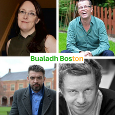 The Irish Writers Centre, Poetry Ireland and the Consulate General of Ireland present logo