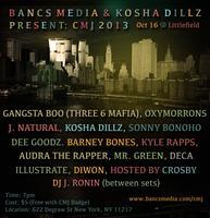 Bancs Media x Kosha Dillz present: OY VEY! CMJ @...