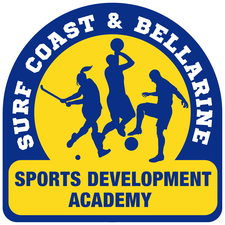Surf Coast & Bellarine Sport Development Academy logo
