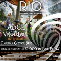 Alice in Wonderland Halloween at RIO