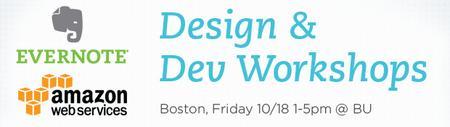 BOSTON Evernote Design & Dev Workshops