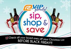 Sip, Shop & Save - San Carlos