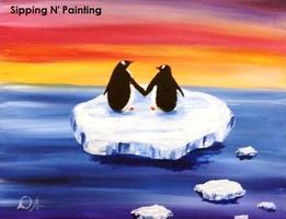 Sip n' Paint Penguins: Saturday January 18th, 4pm