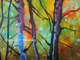 Mimosa Morning! Sip n' Paint Forest Glow: Saturday...