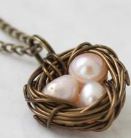 Wire Wrapped Bird Nest Pendants with Tami Gagne