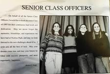 NHS Class of 1997 Officers logo
