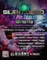 Silent Disco Dallas 10-18