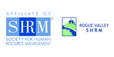 the Rogue Valley Chapter of SHRM  logo