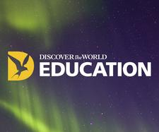 Discover the World Education and the Geographical Association logo