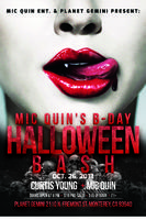 FRIDAY, OCTOBER 25TH - MIKE QUINN BIRTHDAY BASH