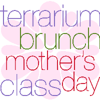 Mother's Day Mini-Brunch and Terrarium Class