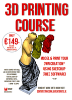 3D Printing Course Cork (Event runs for 4 Wednesday...