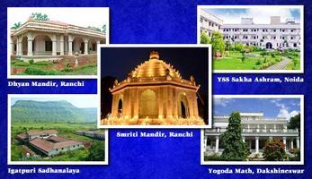 Tour of the Yogoda Satsanga Society Ashrams and Pilgrim...