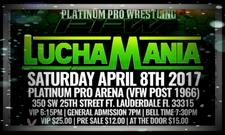 Platinum Pro Wrestling logo
