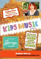 Kid's Music with Marcie (Fall Classes- Session 2)-...