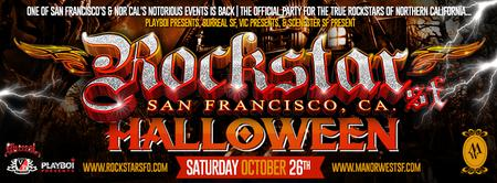 ROCKSTAR SF | HALLOWEEN EDITION | SAT OCT 26TH @ MANOR...