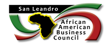 San Leandro African American Business Council  logo