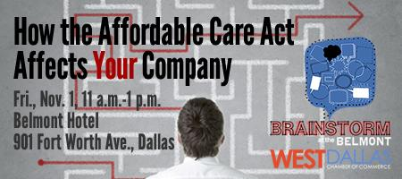 Brainstorm at the Belmont: How the Affordable Care Act...