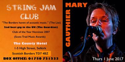 MARY GAUTHIER at STRING JAM CLUB