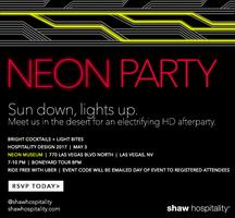 HD Expo Neon Party
