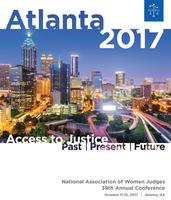 National Association of Women Judges Kick-Off Reception