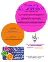 Community ASL (Sign Language) Workshop - Quesnel