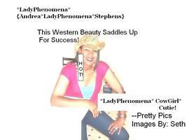 "Andrea Lady Phenomena Stephens Presents--""Western..."
