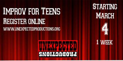 Improv for Teens, Seattle Winter 2017