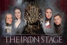 The Iron Stage: Improvised Game of Thrones logo