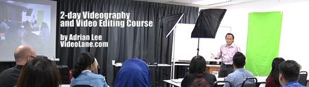 Camera Videography and Video Editing Course (2 days)