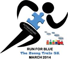 "The Ronny Train's ""Run for Blue 5K"" Fun Run/Walk"