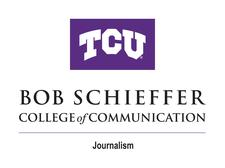 TCU Department of Journalism logo