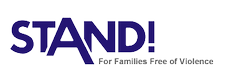 STAND! For Families Free of Violence logo