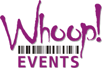 Whoop! Events logo