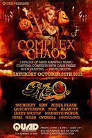 Complex Chaos @ QUAD