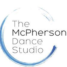 The McPherson Dance Studio logo