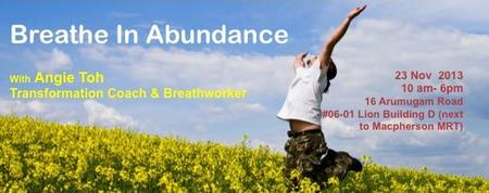 Breathe In Abundance