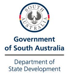 Department of State Development logo