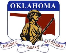 National Guard Association of Oklahoma logo