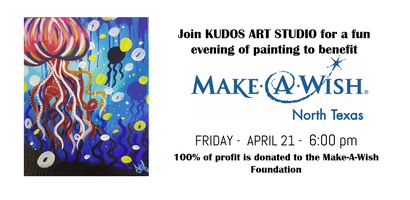 Paint it Forward for Make-A-Wish!