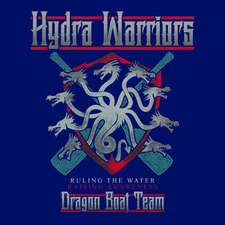 Hydra Warriors Dragon Boat Team logo