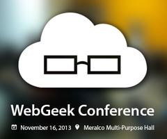 WebGeek Conference 2013 #WGConf