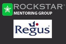 Rockstar and Regus Events logo
