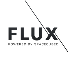 FLUX powered by Spacecubed logo