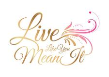Live Like You Mean It  logo