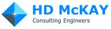 Damien McKay Chartered Engineer of HD McKay Consulting Engineers.  logo