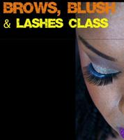 Free Brows, Blush and Lashes