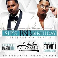 THIS SATURDAY :: STEVIE J HOSTS SIP'S BIRTHDAY BASH...